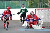 2. hokejbalová liga Malenovice - SK Jihlava B