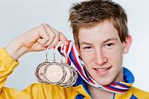 Zlínský dorostenec Lukáš Macek, 4 bronzové medaile z MČR v Brně