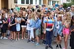 První školní den na ZŠ Kvítková ve Zlíně