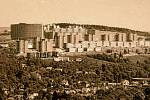 ROK 1989. Celkový pohled na II. etapu z 21. budovy svitovského areálu.