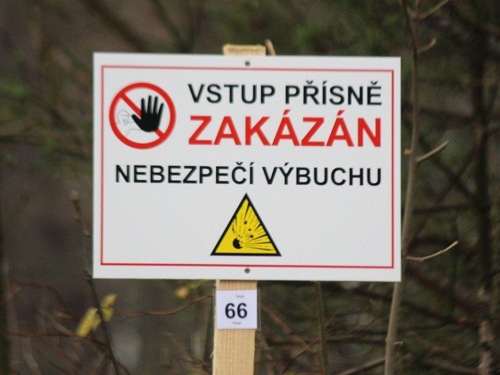 Úklid munice ve Vrběticích začal. Odvoz materiálu potrvá i měsíce