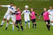 Fotbalistům Morkovic se vydařil také víkendový zápas v Uherském Hradišti, kde zvítězili 2:1 po penaltách