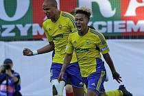 Fotbalista Robert Bartolomeu se stal nečekaným hrdinou finále MOL Cupu s Opavou, když ve 20. minutě vstřelil jediný gól zápasu