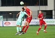 Česká fotbalová devatenáctka (červené dresy) remizovala v přípravném zápase s Portugalskem 0:0.