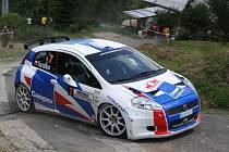 Jaromír Tarabus se svým Fiatem Grande Punto S2000.