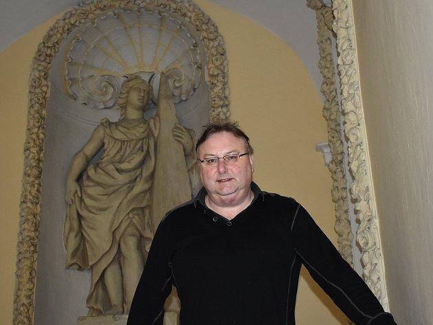 Robert Erhart, kastelán kroměřížského zámku