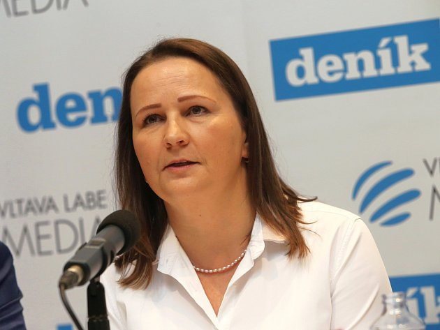 Kateřina Pivoňková, oblastní ředitelka Naděje
