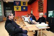 Vydávání žádostí o kotlíkové dotace na krajském úřadě ve Zlíně.