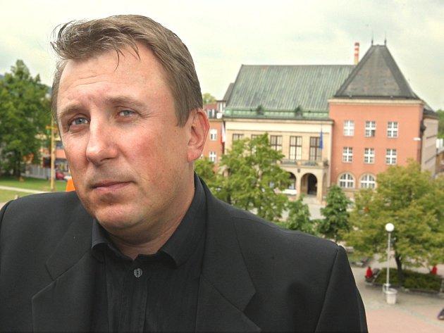 Miroslav Hladík (ODS), druhý náměstek zlínské primátorky.