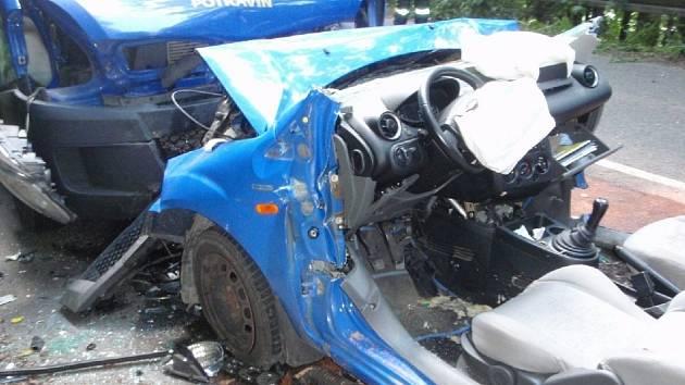 Tragická nehoda u Luhačovic