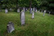 Židovský hřbitov v Brumově.