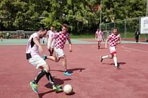 3. kolo první ligy v malé kopané ve Zlíně hrané dne 13.5.2017