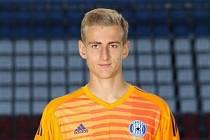 Tadeáš Stoppen, talentovaný brankář fotbalové Sigmy Olomouc