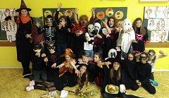 Halloween ve 4. ročníku vZŠ Křiby
