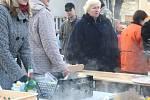 Vánoční trhy ve Fryštáku.
