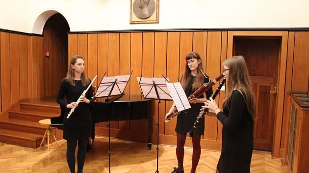 Žáci ZUŠ Morava zahráli na Podzimním koncertu v Baťově vile