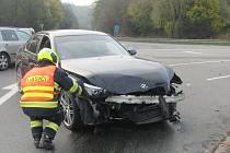 Ke třem nehodám došlo v pátek kolem čtvrté hodiny odpolední. Bouralo se ve Zlíně, ve Všemině i na silnici Slušovice - Lípa.