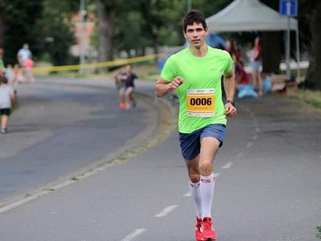 Andrej Višněvský na Festivalovém půlmaratonu 2018.