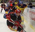 Hokejisté PSG Berani Zlín ve 3. kole hokejové extraligy hráli proti Hradci Králové.