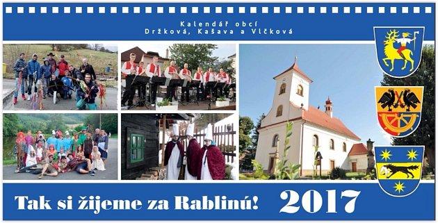 Kalendář obce Kašava