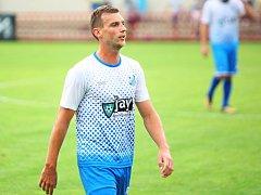 Jednatřicetiletý fotbalista Viktorie Michal Malý je doma v Otrokovicích spokojený.