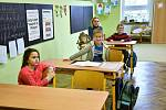Pololetní vysvědčení na ZŠ v Halenkovicích