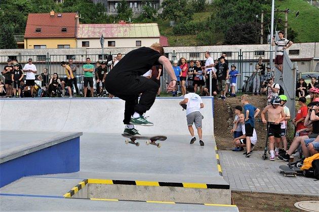 Skatepark. Ilustrační foto.