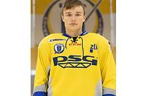 Junior hokejového klubu PSG Zlín Vladimír Váňa