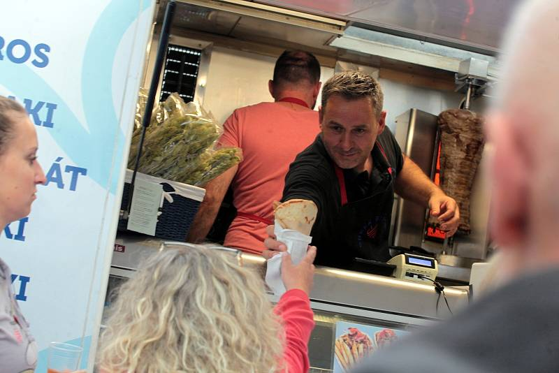Food Truck Sraz na Čepkově.