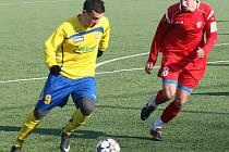 Fotbalisté Zlína v přípravě proti Dubnici