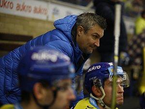 Trenér Zlína Martin Hamrlík