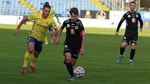 DVA GÓLY vstřelil ve Zlíně kapitán hradeckých fotbalistů Adam Vlkanova a výrazně se podílel na výhře 3:2.