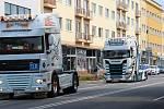 Spanilá jízda a sraz trucků ve Zlíně