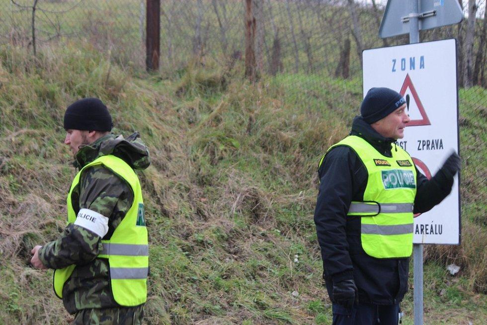 Listopad 2014. Úklid munice ve Vrběticích