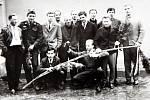Velikonoce v historii Zlínska. Na snímku velikonoce Klečůvka 1965