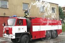 Dobrovolní hasiči ze Slavičína.