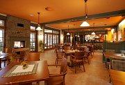 Hotel Vyhlídka - restaurace.