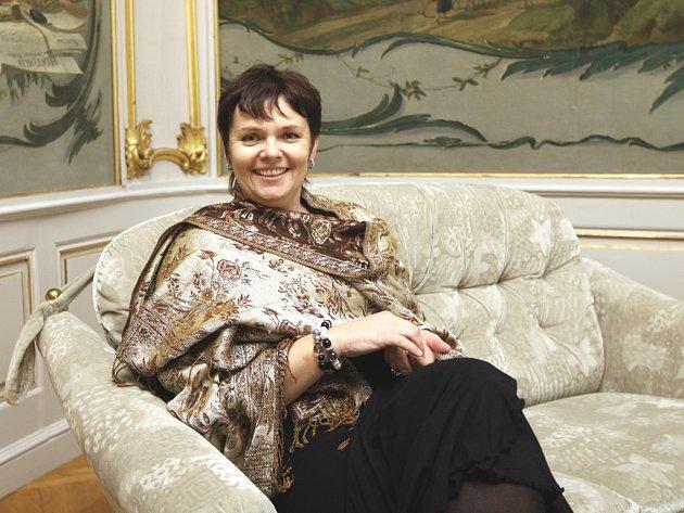 Novodobá zámecká paní Eva Gajdošík