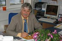 Otto Procházka, odcházející ředitel Základní školy Zlín, Slovenská