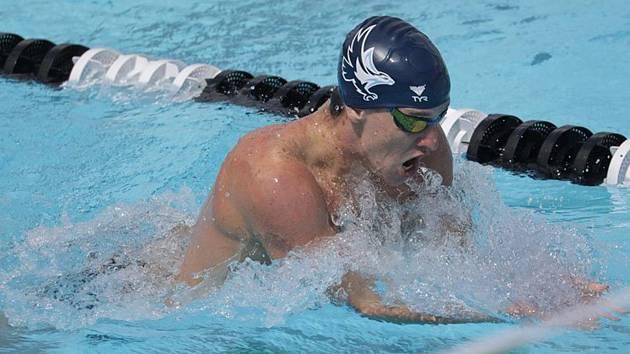 Zlínský plavec Lukáš Macek získal na americké misi další dva tituly.
