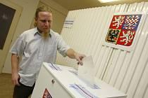 Volby do Senátu 2014 II. kolo v obci Šarovy.