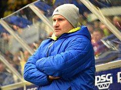 Trenér PSG Zlín Martin Hamrlík