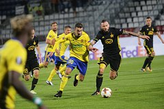 FC FASTAV Zlín - FC Sheriff Tiraspol. Vukadin Vukadinovič