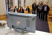 Druhé kolo prezidentských voleb 2018 na magistrátu městského úřadu, sledování výsledků