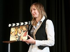 Film fest Zlín 2012 Aukce filmových klapek. Klapka č.111 autor Maroš Chury