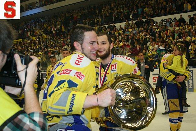 Petr Zámorský slaví v roce 2014 mistrovský titul.