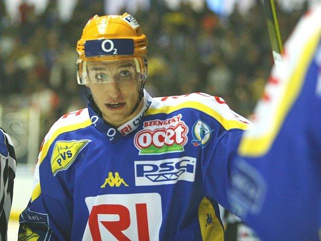 Hokejový forvard Bedřich Köhler.