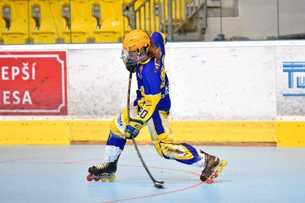 Lukáš Chludil se věnuje také inline hokeji. V mládežnických výběrech se dvakrát stal Mistrem Evropy.
