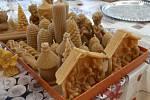 Medový den ve Fryštáku. Na výstavě si koupili i perníčky