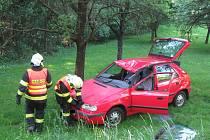 Dopravní nehoda poblíž zlínské Velíkové